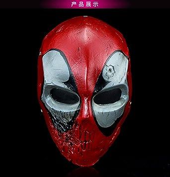 SASA Marvel Anime Deadpool máscara Cosplay máscara de Resina Rendimiento Vestido de Accesorios