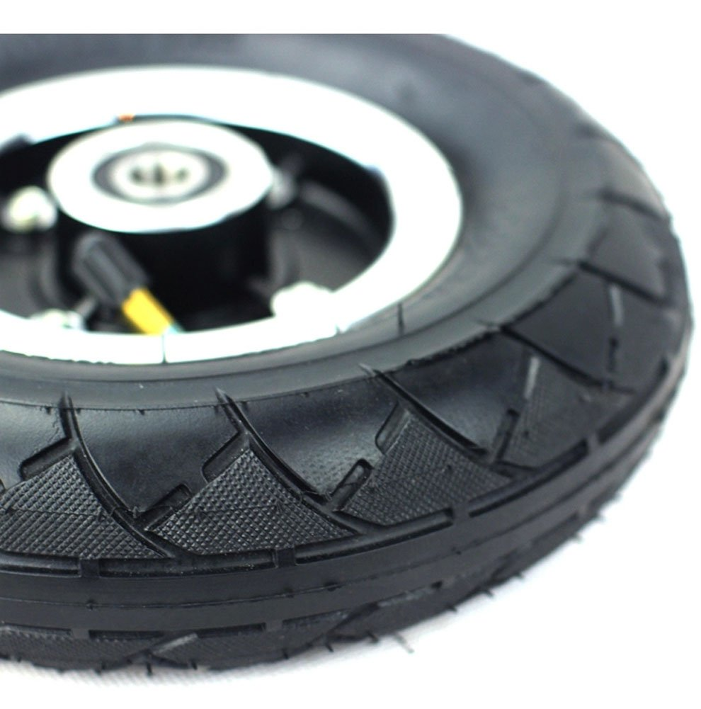 200MM Electric Scooter Tyre With Wheel Hub 8'' Scooter Tyre Inflation Electric Vehicle Aluminium Alloy Wheel Pneumatic Tire (wheel) by L-faster