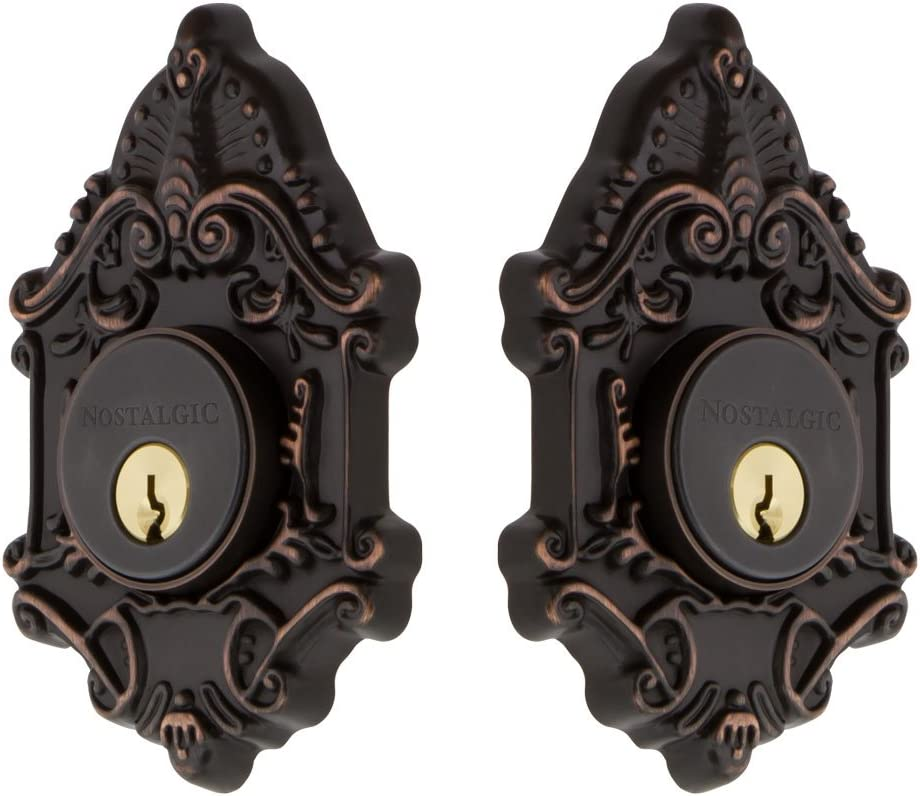 Nostalgic Sales for sale Warehouse Victorian Double Timeless Cylinder Deadbolt Translated