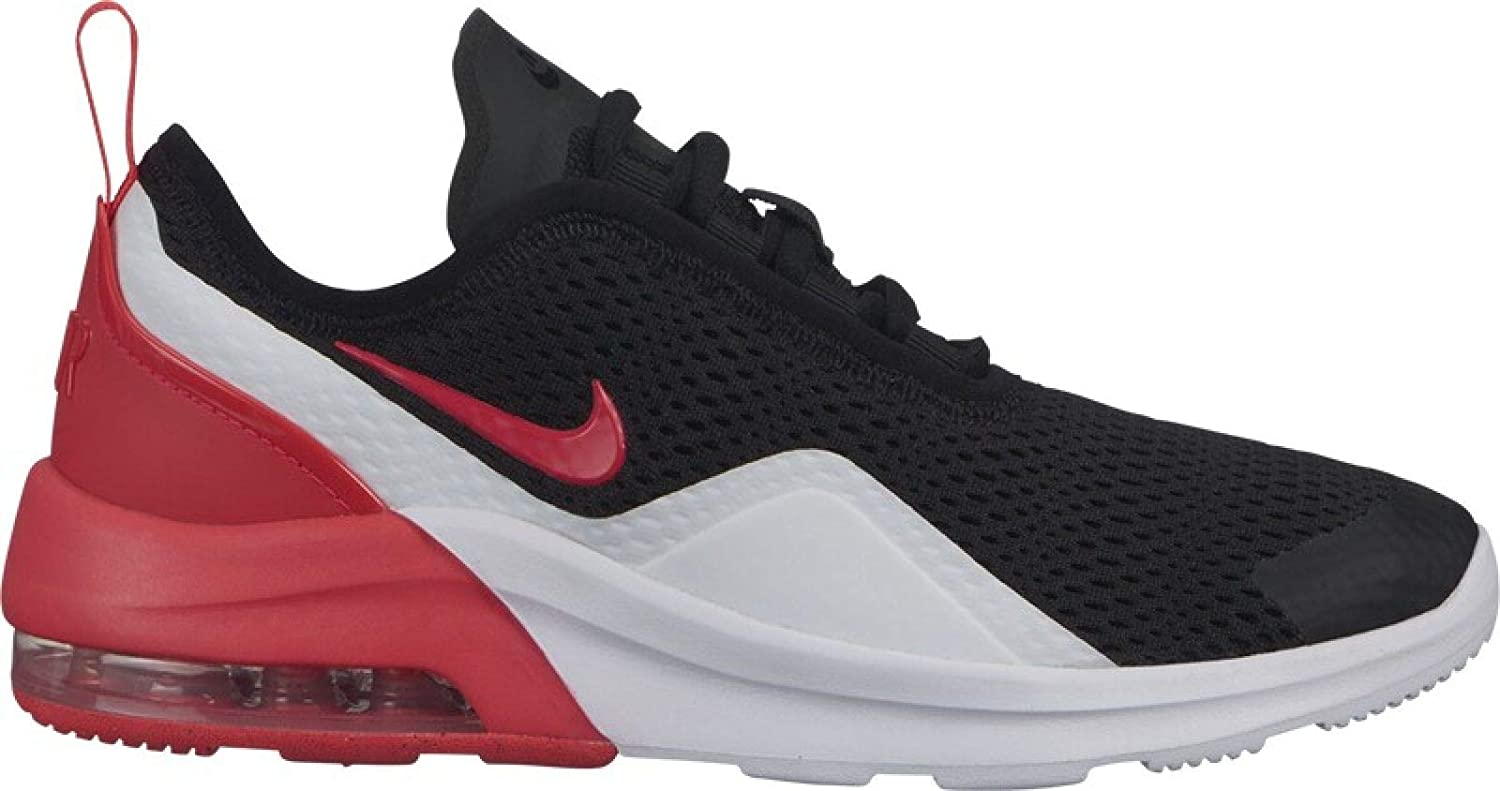 best sneakers ee36c c82eb Amazon.com   Nike Boy s Air Max Motion 2 Shoe Black Red Orbit White Size 6 M  US   Running