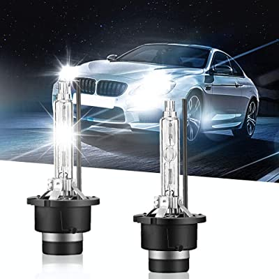 Carrep 2Pcs D4S 35W HID Xenon Replacement Light Lamp HID Bulbs Headlight Bulbs (CRYSTAL BLUE): Automotive