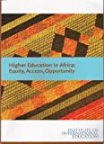 Higher Education in Africa, Sabine O'Hara, 0872063348