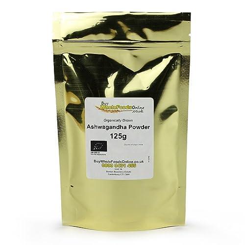 Organic Ashwagandha Powder 125g