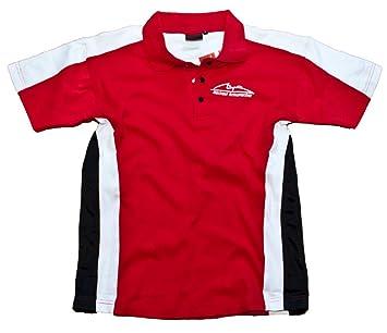 Camisa de POLO 1 Michael Schumacher F1 NEW fórmula carrera Rojo ...