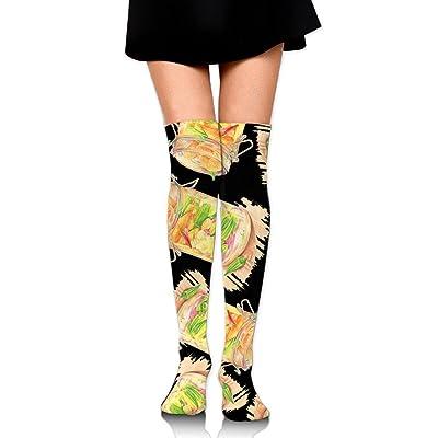e8a307670286d Pickle Painting Lover Gift Unisex Novelty High Knee Socks Leggings Boot  Socks