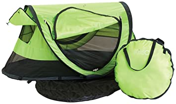 Amazon Com Kidco Peapod Plus Infant Travel Bed Kiwi Infant And
