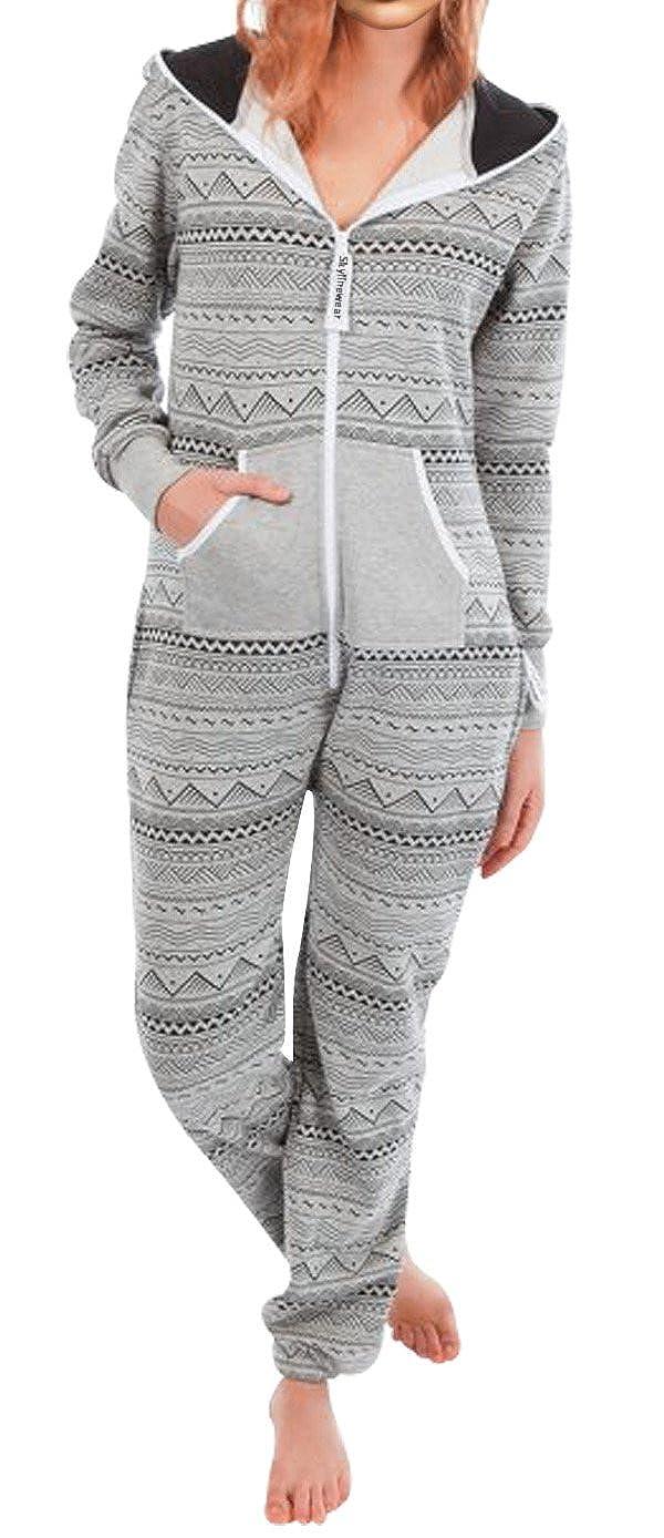 SkylineWears Womens Onesie Fashion Playsuit Ladies Jumpsuit