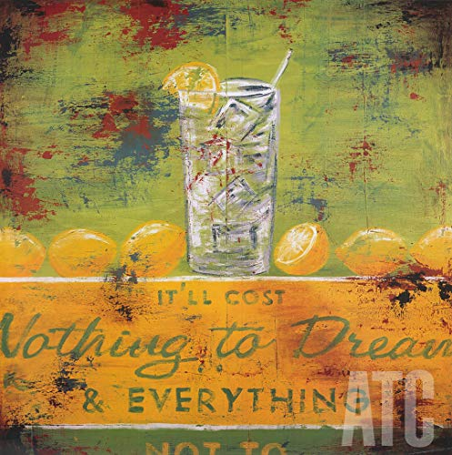 ArtToCanvas 48W x 48H inches : Nothing to Dream by Rodney White - Canvas w/Brushstrokes