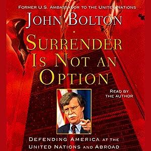 Surrender Is Not an Option Audiobook