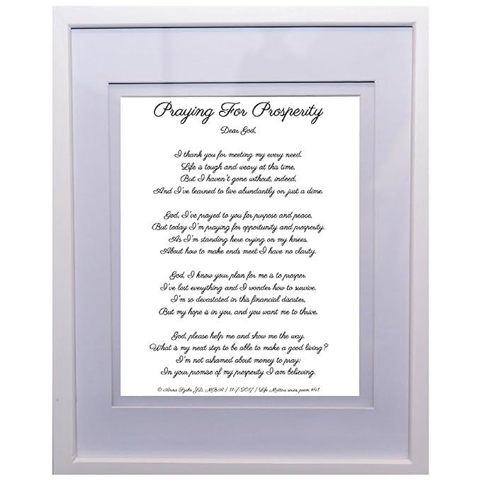 Christian Poems by Anna Szabo #PoemsFromGod Prayer for Prosperity