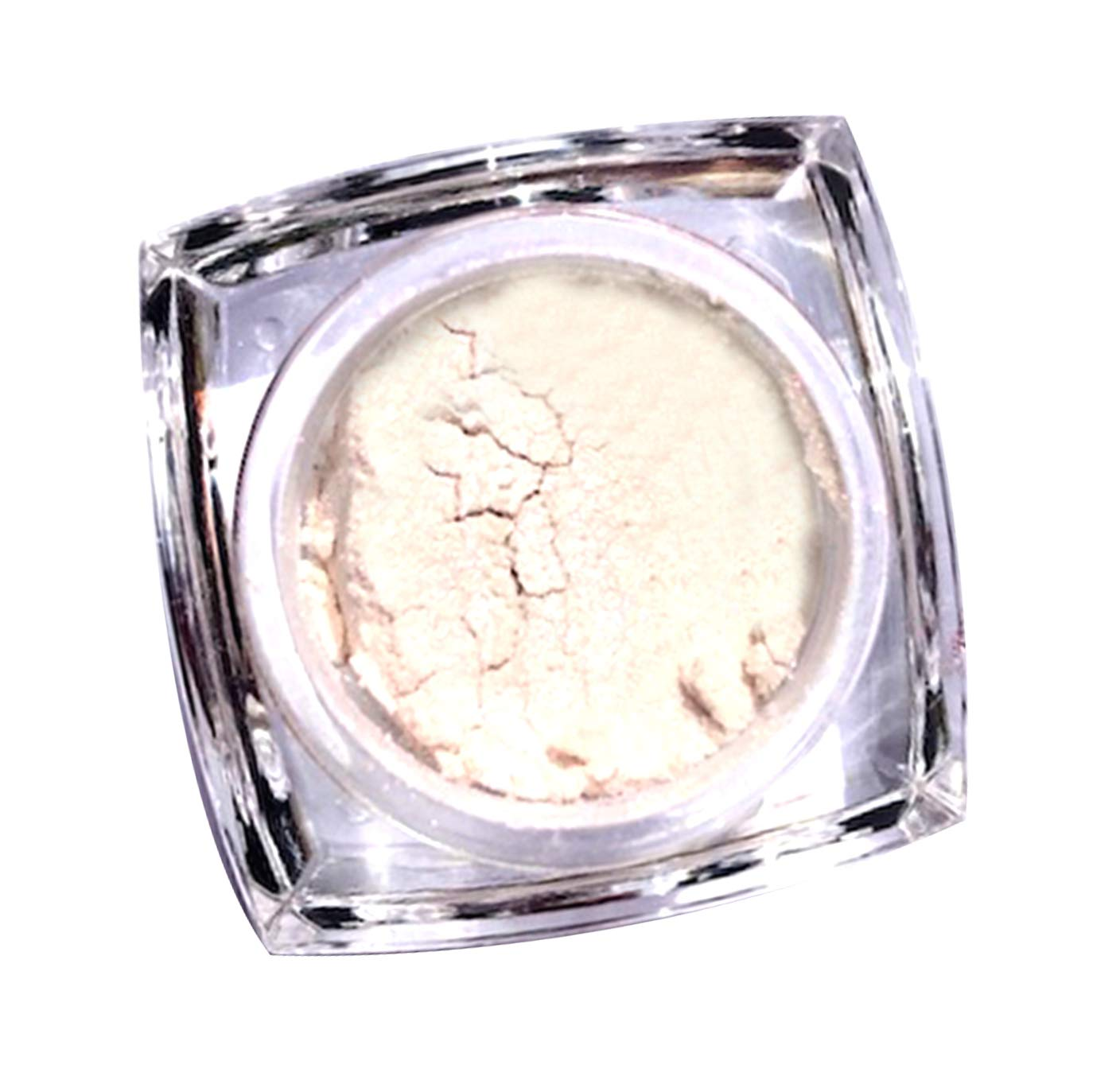 Neva Nude Milky Way White Iridescent Lilac Loose Pigment Sparkle Dust Shimmer Eyeshadow Highlighter VEGAN