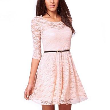 Elite99® Women s Skater Dress  Amazon.co.uk  Clothing 06b1ded76