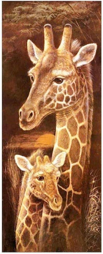 DIY 5D Diamond Painting Kit Full Drill DIY Rhinestone Arts Craft for Home Wall Decor DIY Painting Kits-Giraffe