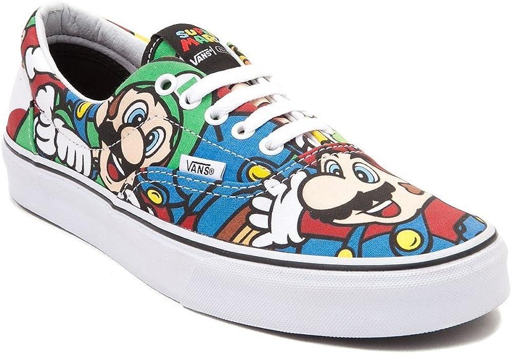 Amazon.com | Vans Especial Edition Nintendo Era Mario & Friends ...