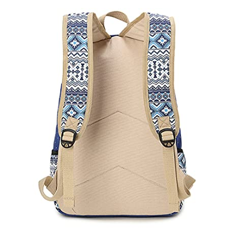 Amazon.com: Hitop Geometry Dot Casual Canvas Backpack Bag, Fashion Cute Lightweight Backpacks for Teen Young Girls (Grey): Arts, Crafts & Sewing
