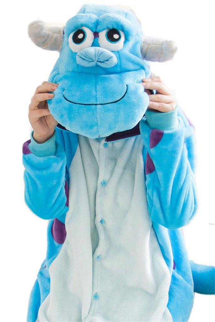 Unisexo Kigurumi Pijamas Para Adultos Franela Disfraces Animales ...