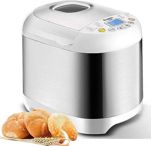 Bread Maker Digital Fresh Bake Machine Automatic Toast Cook
