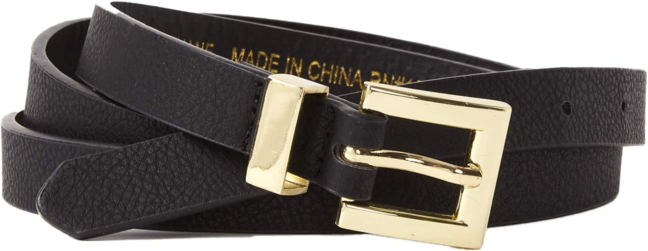 Womens Plus Size Belts Ladies Faux Leather Criss Cross Buckle Waist Accessories