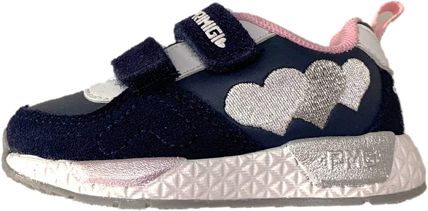 Primigi 3445422 Sneakers Girl Glitter with Tear Made in Italy