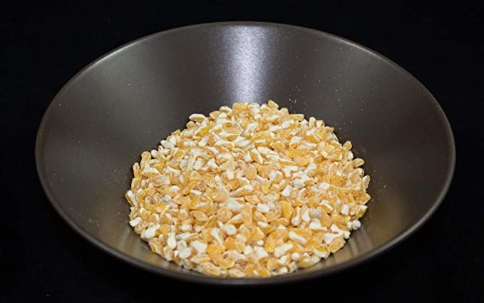 Maiz trillado amarillo a granel - 500 grs