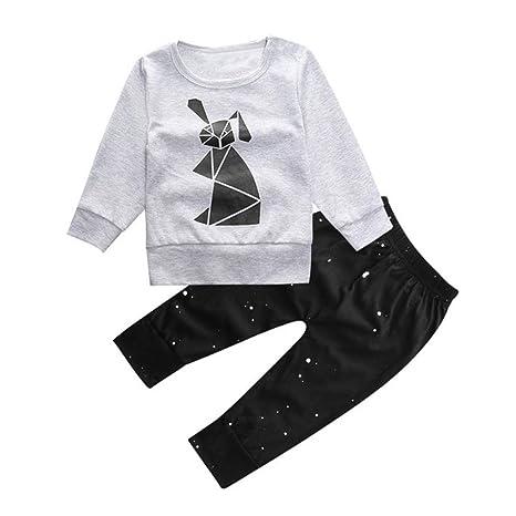 Cartoon impresora camiseta Tops + pantalones - yogogo ropa ...
