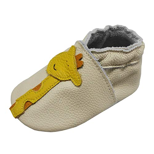 cca2559b94687 Amazon.com | YIHAKIDS Baby Infants Soft Sole Leather Shoes First ...