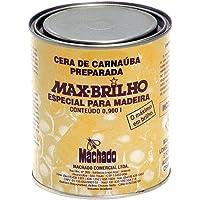 MACHADO CERA CARNAUBA MAX BRILHO MADEIRA INCOLOR