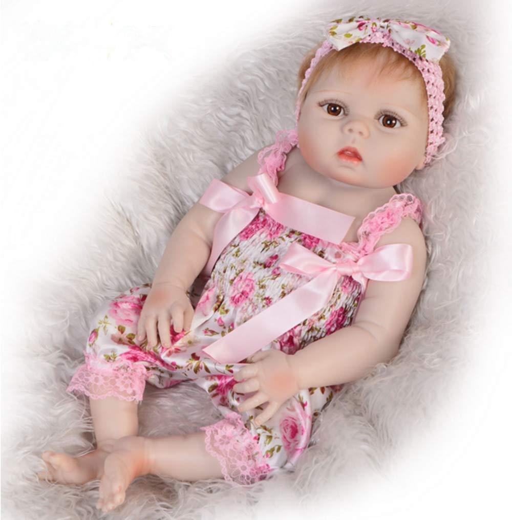 opciones a bajo precio O-YMS Suave Completo Cuerpo Vinilo Silicona Reborn Reborn Reborn Muñecas Bebé Juguete 23 Pulgadas 57 cm Baby Dolls Ojos Abiertos Niñas  envio rapido a ti