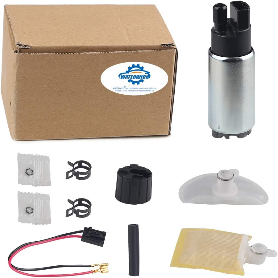 WATERWICH Compatible with Intank Fuel Pump Nissan Toyota Acura Honda Accord Chevy Mazda and More E2068 E8213 EFP382A