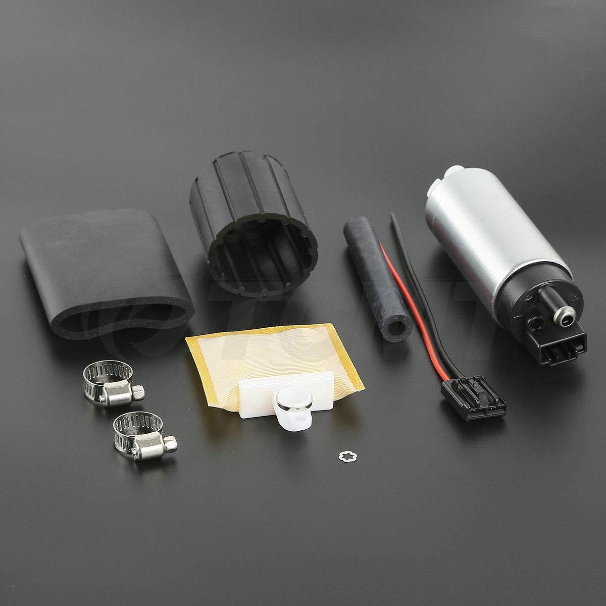 TCMT Intank Bomba de combustible + Kit para Toyota Celica reemplazar Walbro gss341 gss342 255lph: Amazon.es: Coche y moto