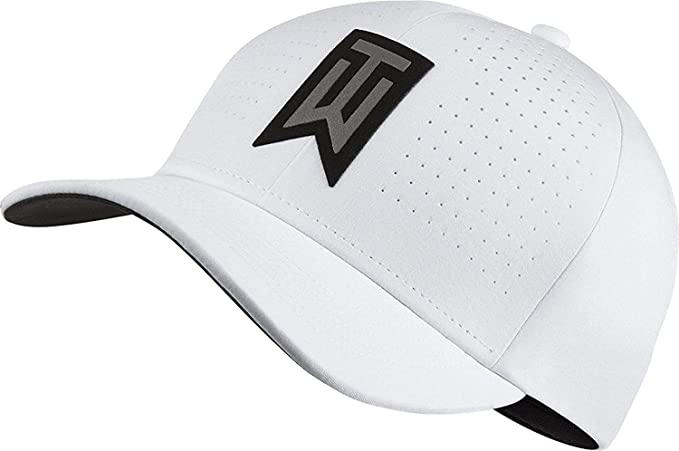 Nike Golf Mens Tiger Woods TW AeroBill Classic99 Golf Hat White 845579 Size  S M  Amazon.ca  Sports   Outdoors b9ff22ca7ce