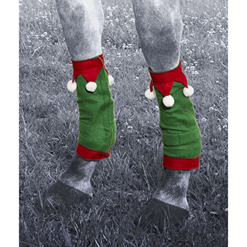 JT International Holiday Elf 4 Piece Leg Wraps