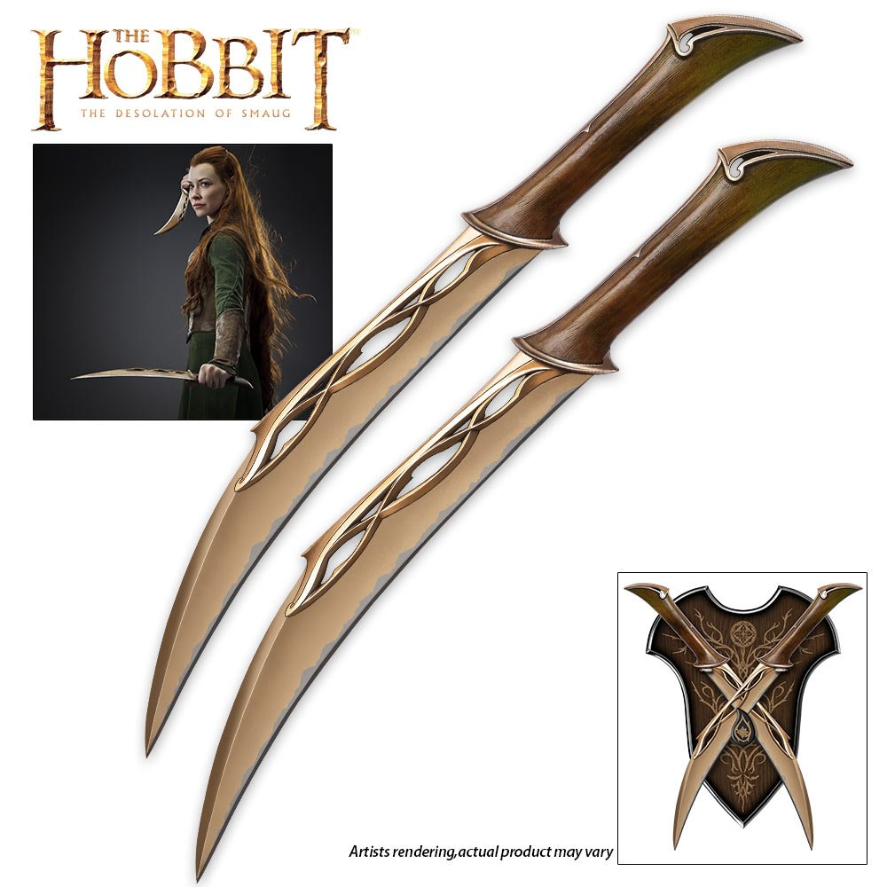 United Cutlery UC3044 'The Hobbit' Fighting Knives of Tauriel by United Cutlery