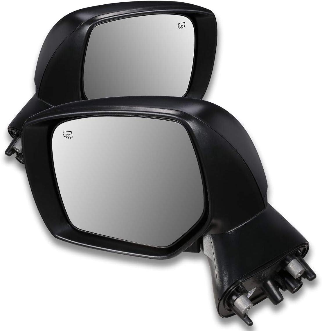 Fits 12-14 Subaru Impreza Xv Crosstrek Passenger Side Mirror Replacement Heate