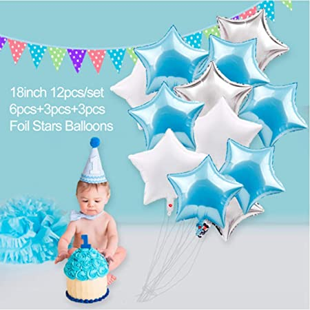 OSAYES 1er cumpleaños Decoraciones Kit para Bebe niña ...