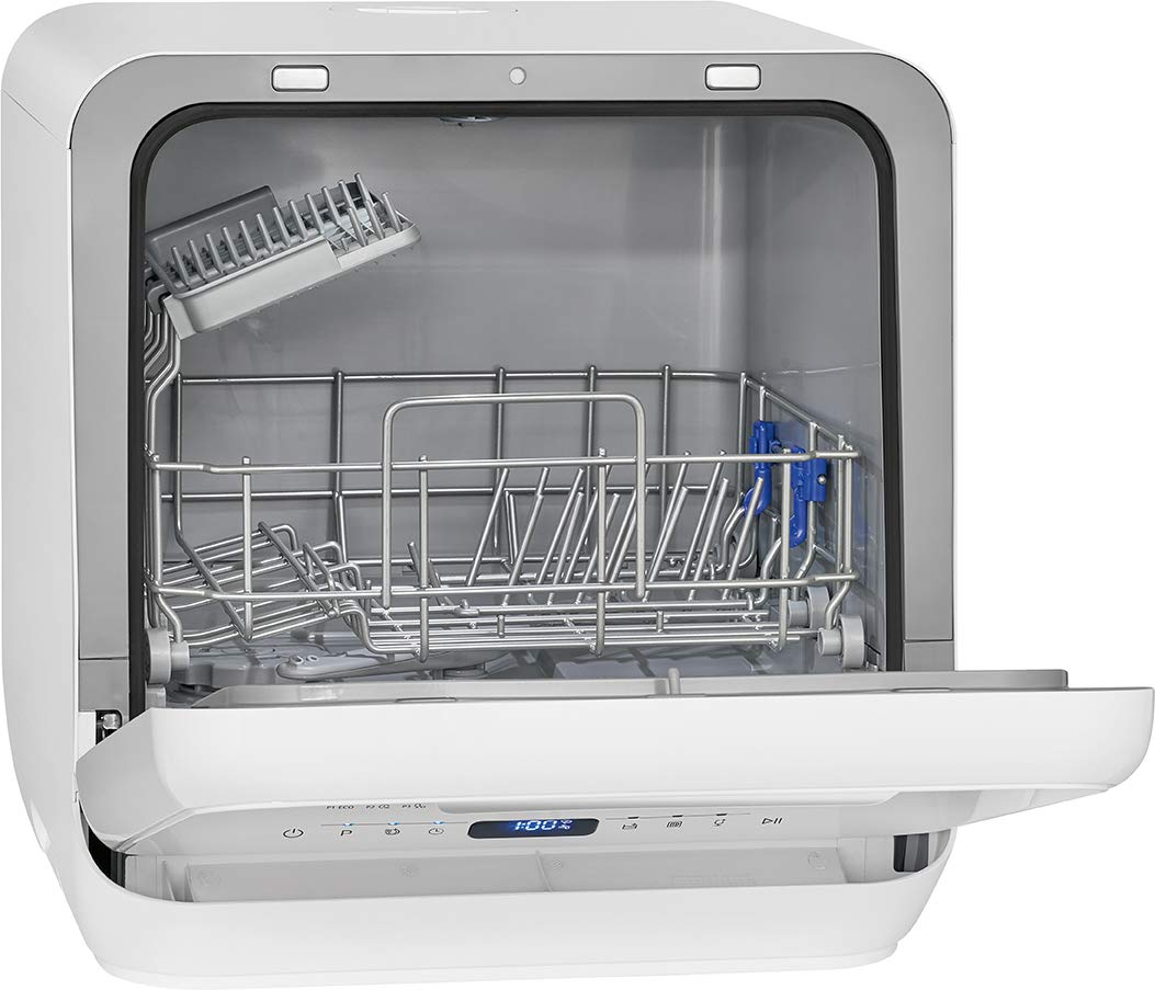 43,5 x 42 x 43,5 cm Color Blanco Bomann TSG 7402-Lavavajillas Mini