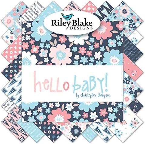 5 Stacker by Christopher Thompson for Riley Blake Hello Baby