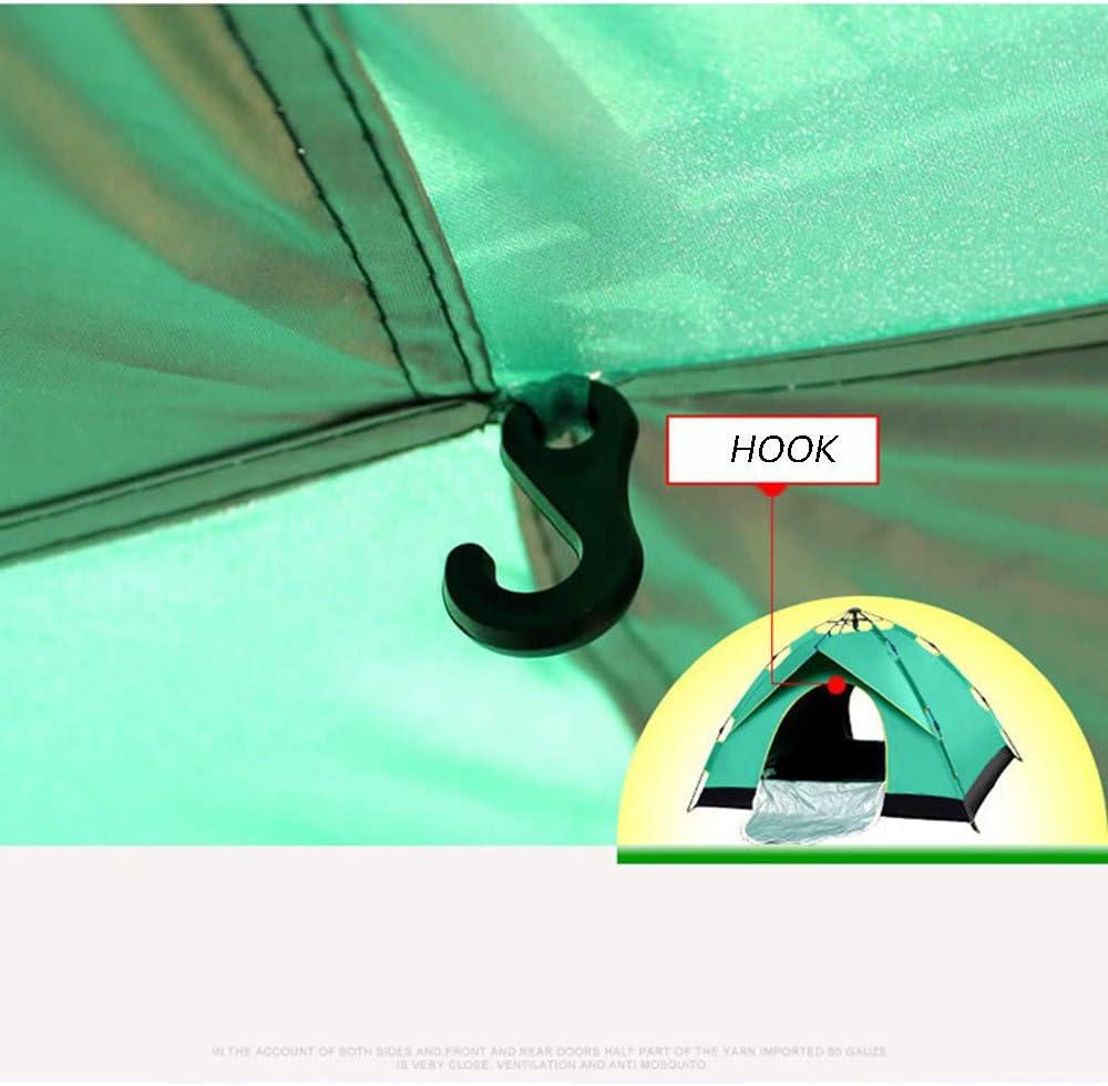 ZzheHou Zelt Hydraulische Einlagigen Wasserdichter Rucksack Zelt Automatische Pop-up-Outdoor-Klettern Camping Zelt (Color : Green) Green