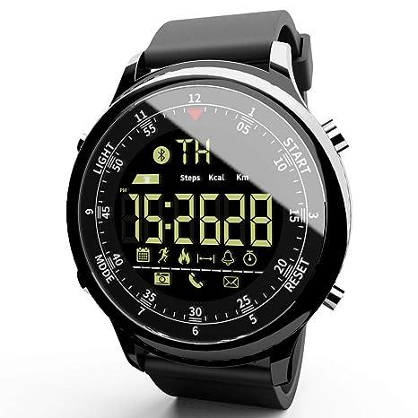 7ed90628a LOKMAT Sports Digital Smart Watch Women Men Waterproof Bluetooth Smart  Wrist Watch, Smartwatch with Walking