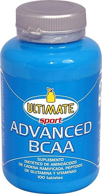Ultimate Italia Advanced BCAA Complementos Alimenticios - 120 gr