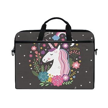 Amazon.com: Portátil de 15-Inch bolsa Unicorn son reales de ...