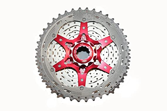 Sunrace CSMX3 Cassette para Bicicleta, 10 velocidades, Gris, Talla Única: Amazon.es: Deportes y aire libre