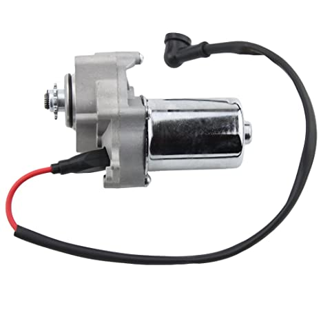 GOOFIT Electric Starter Motor Under for 50cc 70cc 90cc 110cc 125cc  Horizontal Engine Chinese ATV Dirt Bike Go Kart