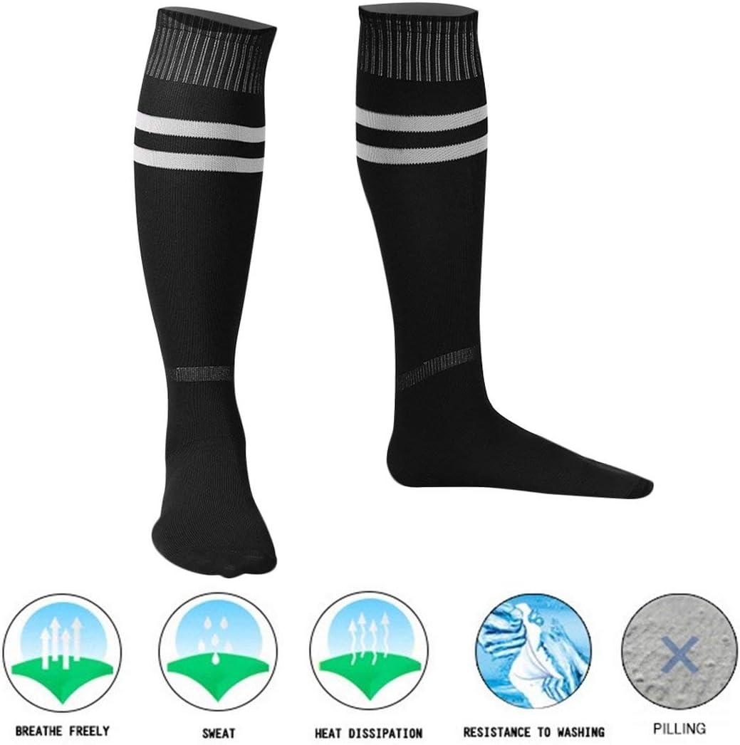 Celerhuak Hommes Femmes Chaussettes Football Baseball Football Chaussettes De Sport Genou Legging Bas 1 Paire