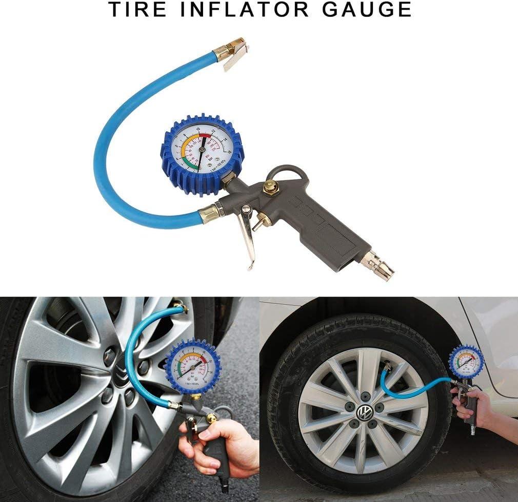 High Precision Automobile Tire Pressure Gauge Car Digital Pneumatic Gauge Tire Inflator Gauge Tire Pressure Monitoring