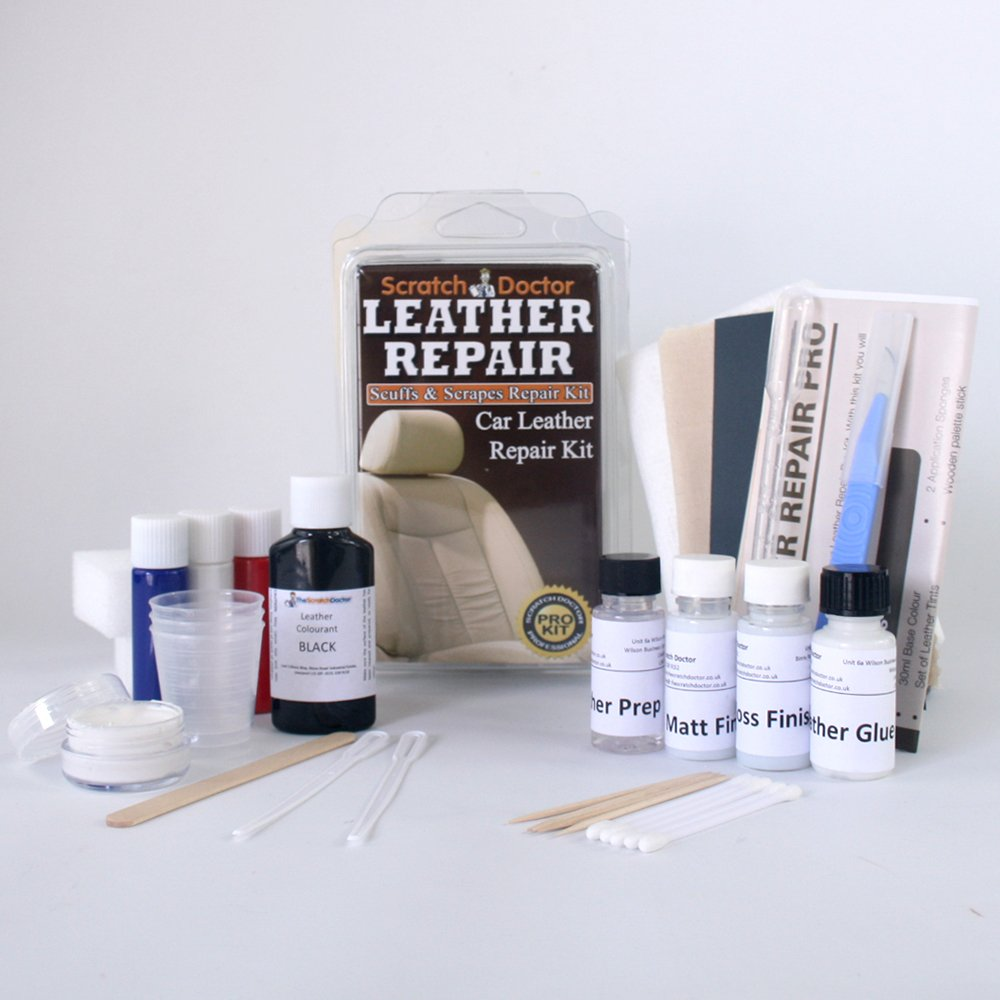 Leather Couch Repair Kit For Scratches Fixing Cat
