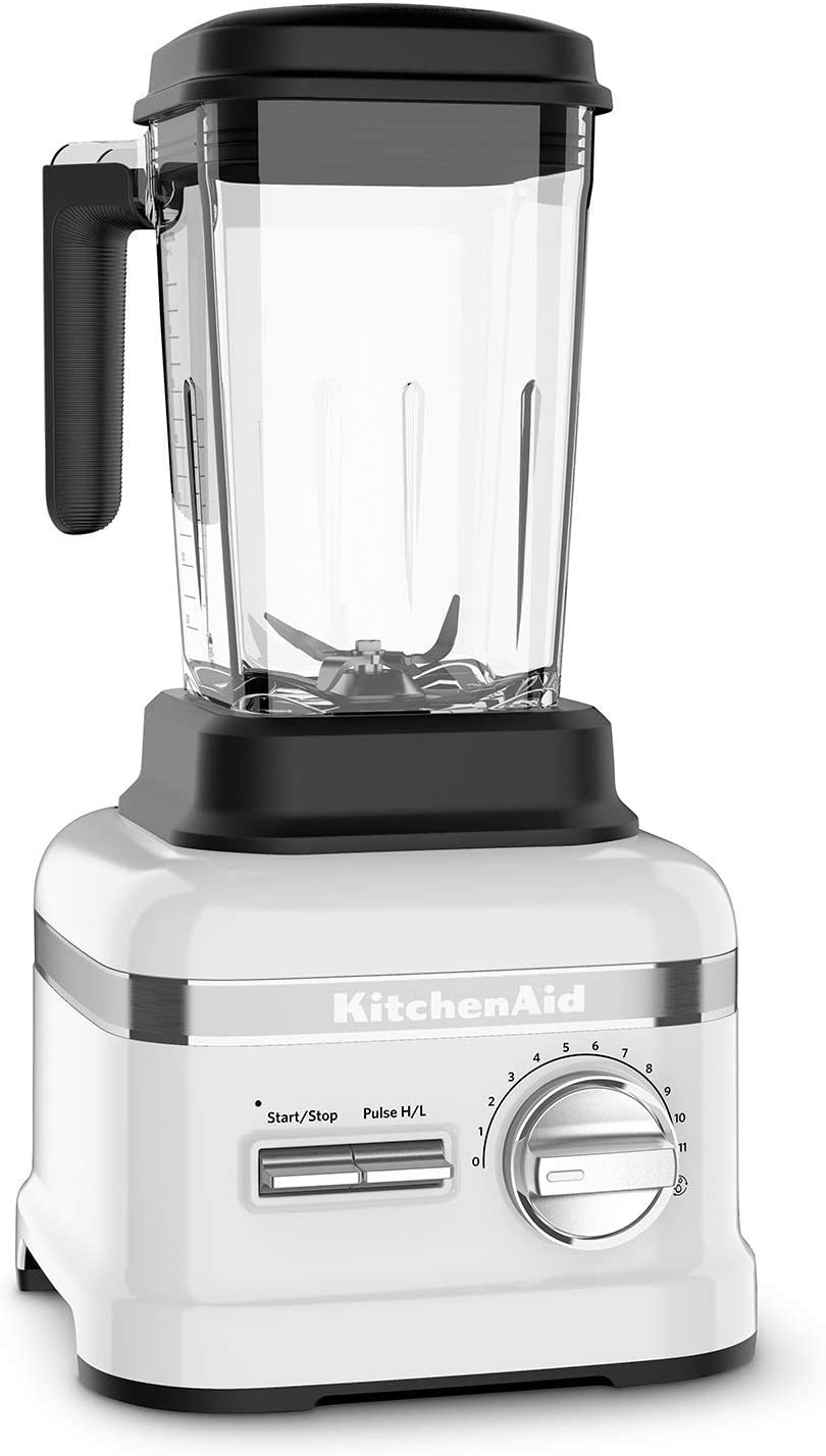 KitchenAid Pro Line Series Blender | Frosted Pearl White (Renewed)