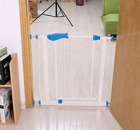 Puertas de seguridad Niño Para Puertas Escaleras Cerca de bebé Perro Parque infantil Puerta de bebé con puerta para mascotas: Amazon.es: Bebé