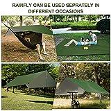 FIRINER Camping Hammock with Rain Fly Tarp and