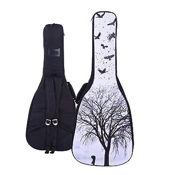 Doolland 41 & 42 Inch Acústica Folk Guitarra clásica Estuche ...